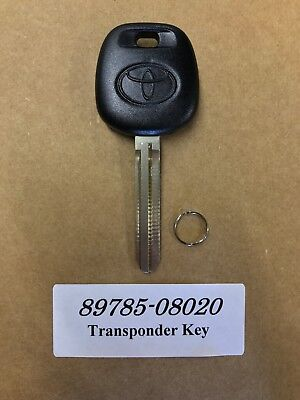 OEM Master Rubber Transponder Chip Dot Key Blank 4D 89785-08020 USA SELLER