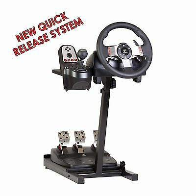 Steering Wheel Stand for Logitech, Thrustmaster. PS3, PS4, Xbox 360, Xbox One