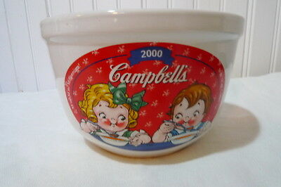 "Campbell's Soup Bowl 2000 3½"" High 5½"" Wide"