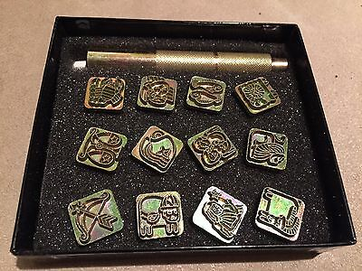Zodiac Stamp Set
