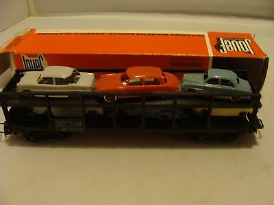 Jouef No 654 Ho Scale - Car Transporter Wagon - Mint/boxed