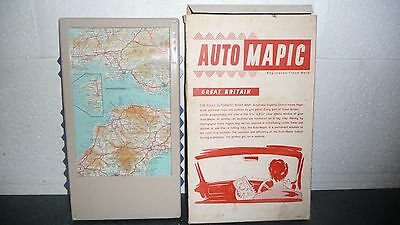 Vintage Auto Mapic Automatic Map of Great Britain