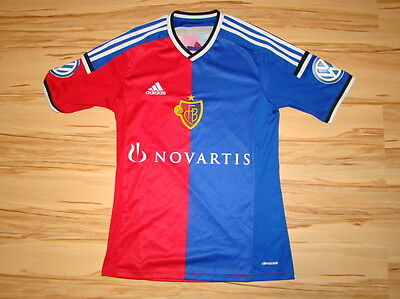 Fc Basel Adidas Home Shirt 2014-15 Sizer S Perfect
