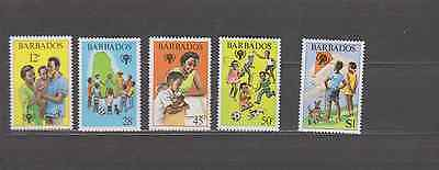 Barbados 1979 Year Of The Child Set Mint Never Hinged
