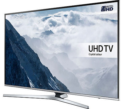 "Samsung UE49KU6470 49"" Ultra HD 4K HDR LED Smart TV with Built-in Freeview HD"