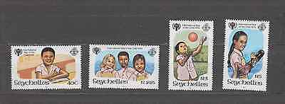 Seychelles 1979 Year Of The Child Set Mint Never Hinged