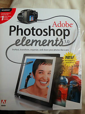 Adobe Photoshop Elements 3.0 software with key