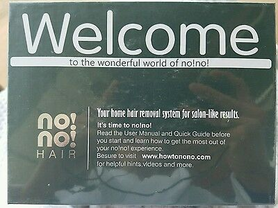 No!No! Chrome Pro 5 Hair Removal System, Sealed **USA Seller**