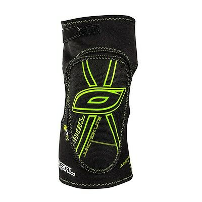 O'Neal Junction Lite Mountain Bike Enduro Knee Pads Guards - Black Green XL
