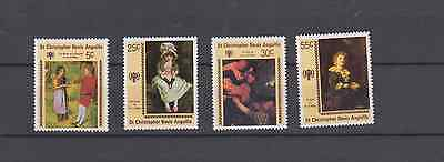 St Christopher Nevis Anguilla 1979 Year Of The Child Set Mint Never Hinged