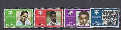 Malawi 1979 Year Of The Child Set Mint Never Hinged