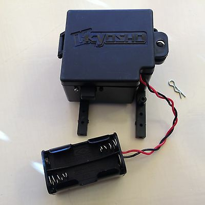 KYOSHO FO-XX, MADFORCE, BATTERY/RECIEVER BOX with battery holder & switch, MA301