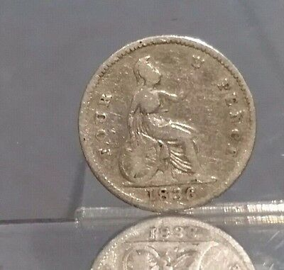 1836 silver four pence groat of William IV
