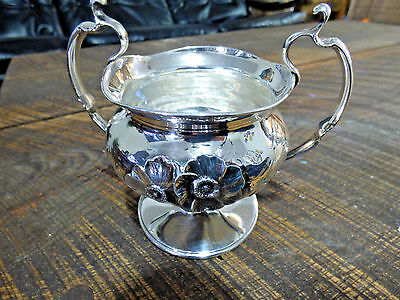 Vintage Sterling Silver Simpson, Hall, Miller & Co. Sugar Bowl