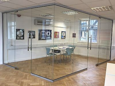 Glass Partitioning - Bespoke sizes to fit your space