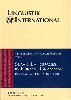 Slavic Languages in Formal Grammar by Hardcover Book (English)