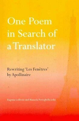 One Poem in Search of a Translator by Paperback Book (English)