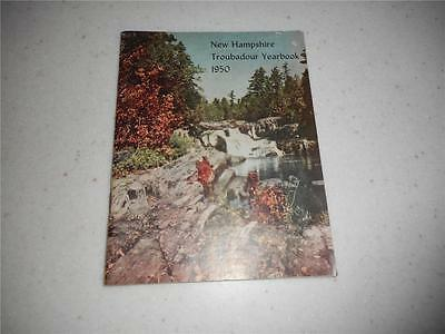 New Hampshire Troubadour Magazine / Booklet  Yearbook 1950 Free Ship