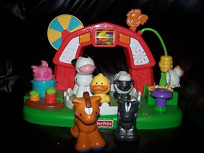 Fisher-Price Amazing Animals Musical Barnyard Sound & Lights  With Extras!