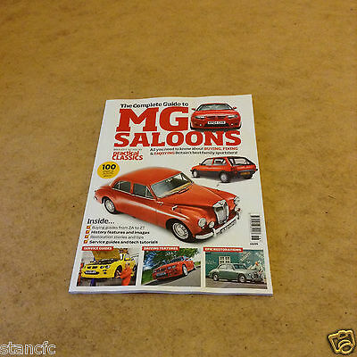 Practical Classics Complete Guide To Mg Saloons Buying Guides From Za To Zt