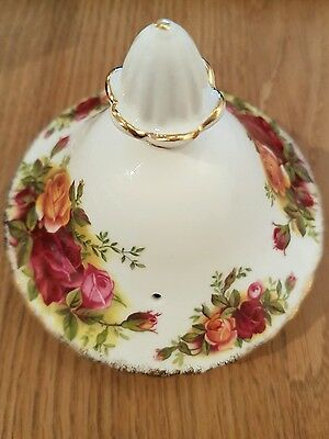 Royal albert old country roses teapot lid only