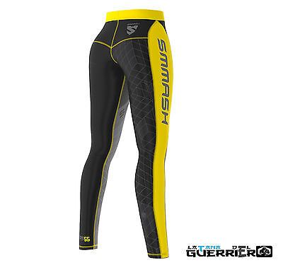 Leggings Donna Go Candy  Compression Mma, Ufc,grappling Bjj. No Gi Funzionale