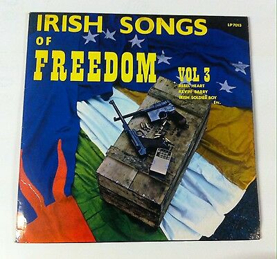 Irish Songs of Freedom, Vol 3. Outlet records. LP7013.