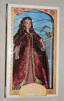"Disney Winter Belle Limited Edition Doll 17"" Beauty And The Beast NIB"