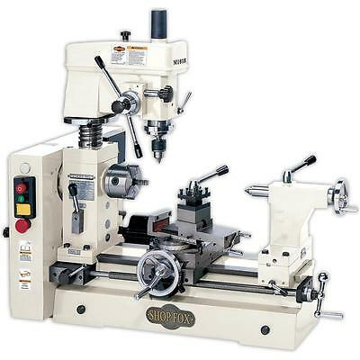 Shop Fox M1018—Small Combo Lathe / Mill 3/4hp 1ph (New in Crate)