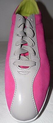 "PUMA Women's Munster Fashion ""RETRO"" Look Sneaker, Leather, Cabaret, SZ 7.5"