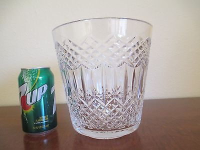 Waterford Crystal, Ice / Champagne Bucket - Intricate Design
