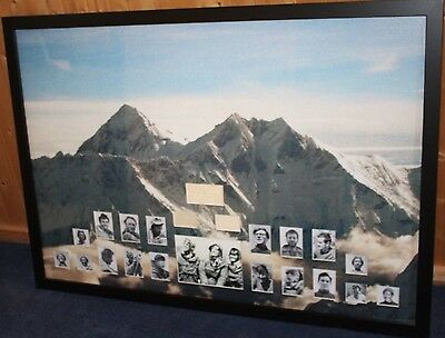 Everest Signed Picture Display