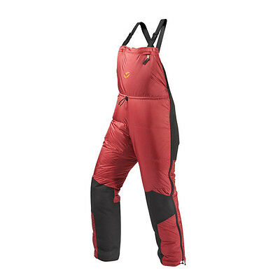 Valandre Baffin Down Bib  Expedition Size: M RED Comf: -13° Ext: -22°F