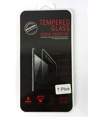 For iPhone 7 Plus Ultra Slim Clear Front Screen Protector Cover Film Guard UK
