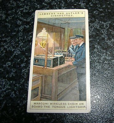 Lambert & Butler Wireless Telegraphy Card No1