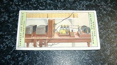 Lambert & Butler Wireless Telegraphy Card No17