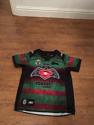South Sydney Rabbitohs NRL RUGBY JERSEY SIZE 14 Years excellent Condition