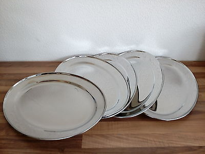 5 X 45 Cm Oval Stainless Serving Trays, Platter Meat Flat