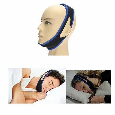 Stop Snoring Chin Strap Jaw Belt Anti Snore Solution Device Apnea Support GL007