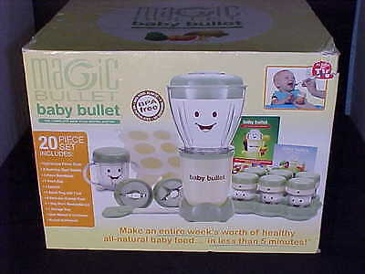 Magic Bullet 20 Piece Baby Food Making System