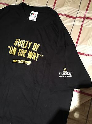 Guinness Small Mens Tshirt. T Shirt  Guinness Bold Confessions Unworn