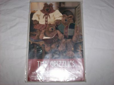 Indygo Junction The Grizzlies Doll Pattern