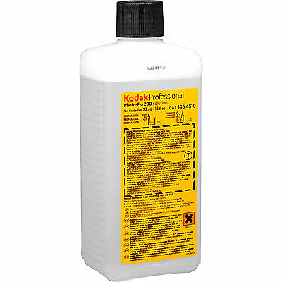 Kodak Photo-Flo 200 Solution / Photographic Wetting Agent 16oz. (1464510)