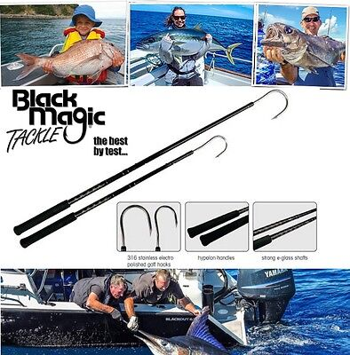 Black Magic Tackle Gaff /316 Stainless Steel Hook/