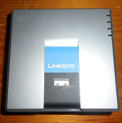 Linksys Spa2102-R Voip 2-Phone Port Adapter With Router