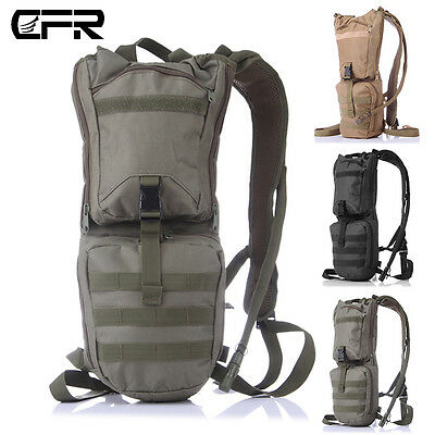 Running Cycling Backpack Sports Camping Hydration Water  Bladder Bag Tactical PT