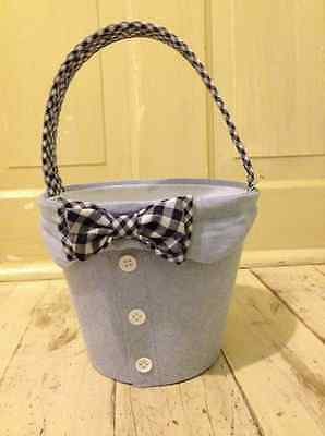 Mud Pie Bow Tie Easter Basket - free shipping
