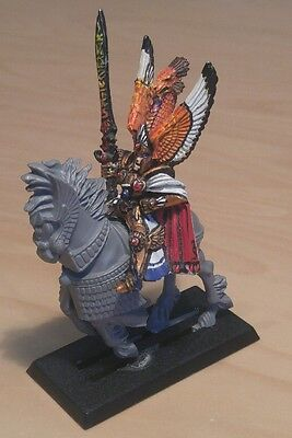 Warhammer Fantasy, AoS, 9th age, High Elves OOP Tyrion, painted