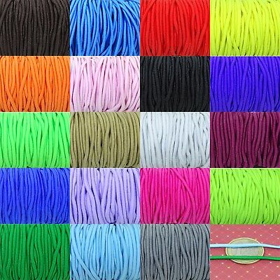 10 M lace Elastic 2mm Colour a Choose  A151 Cord Elastyczny Elastisch