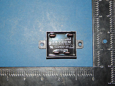 Crydom EZ240D12S Solid State Relay Output 240VAC 12Amp Input 3-15VDC 4Blade